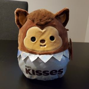 """Squishmallows, Hershey's Kisses, Wade, 8"""""""